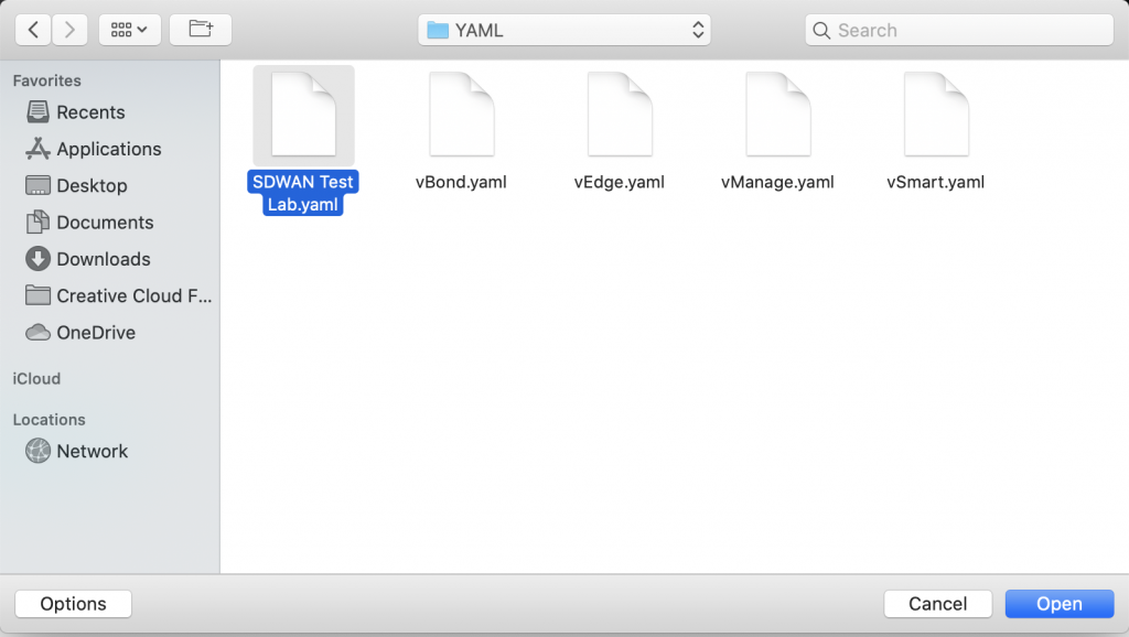 Step 3C - Select Lab File