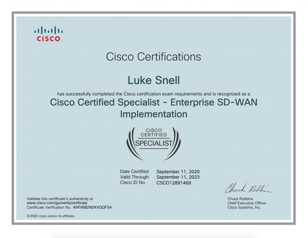 Ccie 8 Passing Implementing Cisco Sd Wan Solutions 300 415 Ensdwi Ether Net